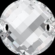 Swarovski Sew-on 3221 - 18mm, Crystal (001) Foiled, 2pcs