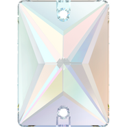 Swarovski Sew-on 3250 - 18x13mm, Crystal Aurore Boreale (001 AB) Foiled, 2pcs
