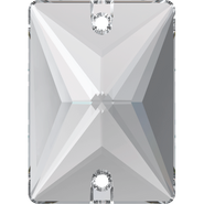 Swarovski Sew-on 3250 - 25x18mm, Crystal (001) Foiled, 1pcs