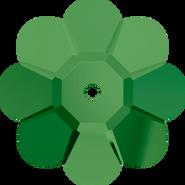 Swarovski Sew-on 3700 - 12mm, Fern Green (291) Unfoiled, 6pcs