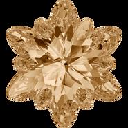 Swarovski Fancy Stone 4753 - 14mm, Crystal Golden Shadow (001 GSHA) Foiled, 2pcs
