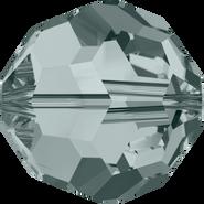 Swarovski Bead 5000 - 10mm, Black Diamond (215), 6pcs