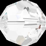 Swarovski Bead 5000 - 10mm, Crystal (001), 6pcs