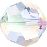 Swarovski Bead 5000 - 10mm, Crystal Aurore Boreale (001 AB), 6pcs
