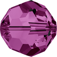 Swarovski Bead 5000 - 14mm, Amethyst (204), 2pcs