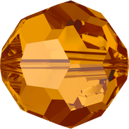Swarovski Bead 5000 - 3mm, Crystal Copper (001 COP), 48pcs