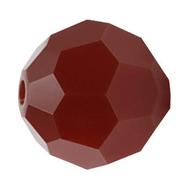 Swarovski Bead 5000 - 3mm, Dark Red Coral (396),  48pcs