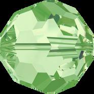 Swar Crystal Bead 5000 - 4mm, Peridot (214), 30pcs