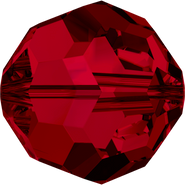 Swar Crystal Bead 5000 - 4mm, Siam (208), 48pcs