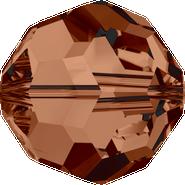 Swar Crystal Bead 5000 - 4mm, Smoked Topaz (220), 48pcs
