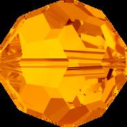 Swar Crystal Bead 5000 - 4mm, Tangerine (259), 48pcs