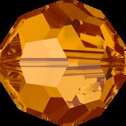 Swar Crystal Bead 5000 - 6mm, Crystal Copper (001 COP), 20pcs