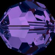 Swarovski Bead 5000 - 8mm, Purple Velvet (277), 12pcs