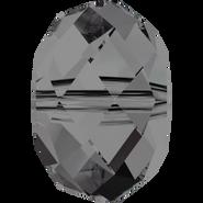 Swarovski Bead 5040 - 6mm, Crystal Silver Night (001 SINI), 10pcs