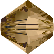 Swarovski Bead 5328 - 4mm, Crystal Bronze Shade (001 BRSH), 48pcs