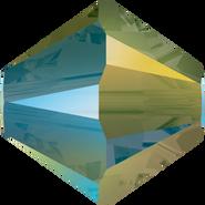 Swarovski Bead 5328 - 4mm, Crystal Iridescent Green (001 IRIG), 48pcs