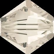 Swarovski Bead 5328 - 4mm, Crystal Silver Shade (001 SSHA), 48pcs
