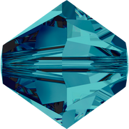 Swar Crystal Bead 5328 - 6mm, Indicolite (379), 20pcs