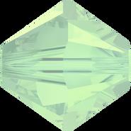 Swarovski Bead 5328 - 8mm, Chrysolite Opal (294), 12pcs