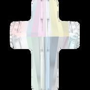 Swarovski Bead 5378 - 14mm, Crystal Aurore Boreale (001 AB), 2pcs