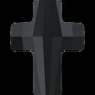 Swarovski Bead 5378 - 14mm, Jet (280), 2pcs
