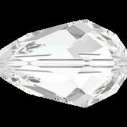 Swarovski Bead 5500 - 9x6mm, Crystal (001), 4pcs