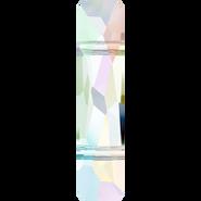 Swarovski Bead 5535 - 19x5mm, Crystal Aurore Boreale (001 AB), 2pcs