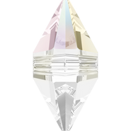 Swarovski Bead 5747 - 12x6mm, Crystal Aurore Boreale (001 AB), 6pcs