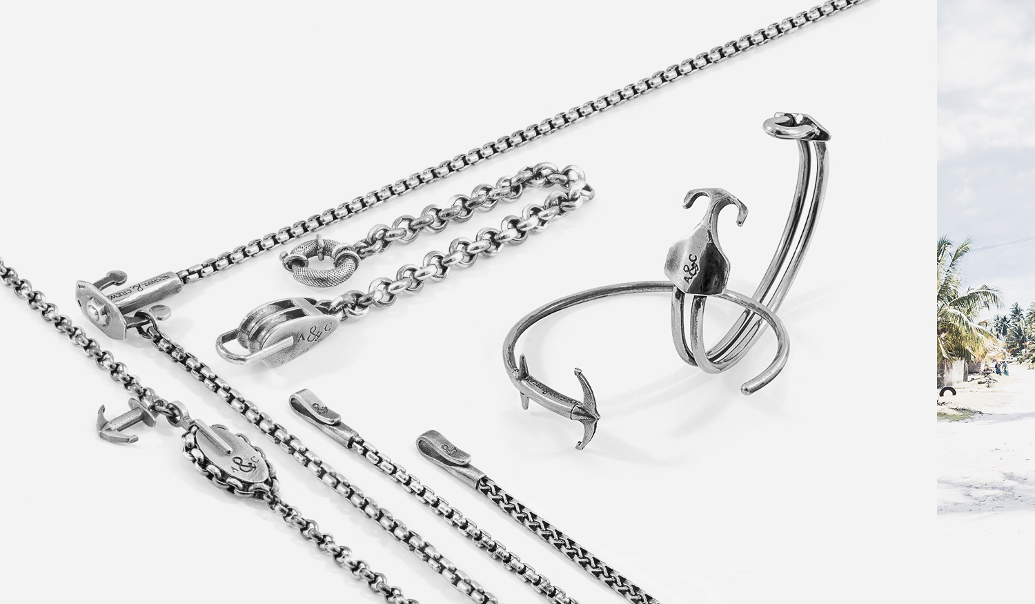 The New S/S20 Bracelet Collection. New Chains Added