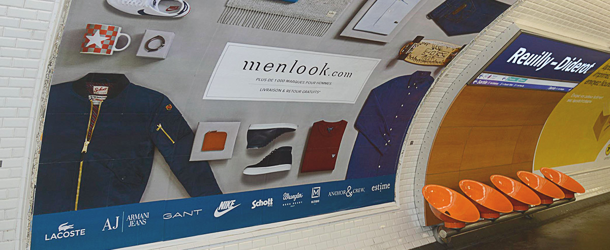 Comme vu sur le Métro de Paris et The Menlook Tribune Le Guide Ultime