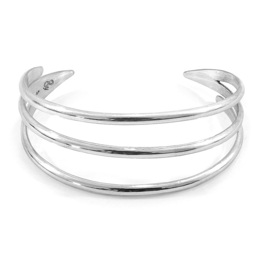 Anchor & Crew Rincon Midi Surf Silver Bangle
