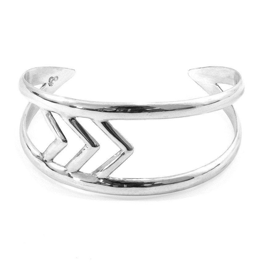 Anchor & Crew Montanita Maxi Surf Silver Bangle