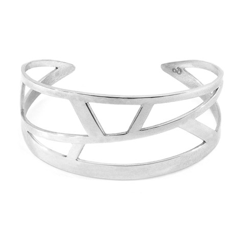 Anchor & Crew Arugam Maxi Surf Silver Bangle