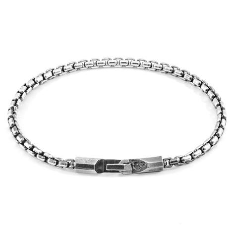 Anchor & Crew Talbot Mooring Silver Chain Bracelet