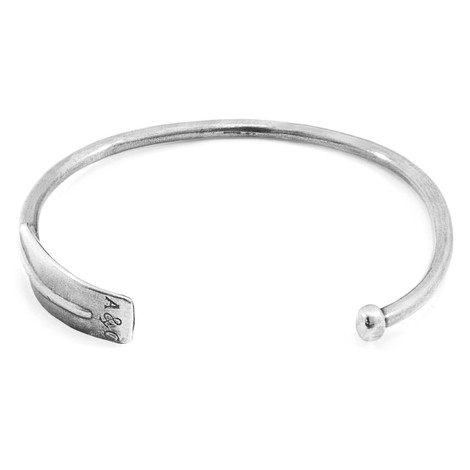 Anchor & Crew Paddle Navigation Silver Bangle