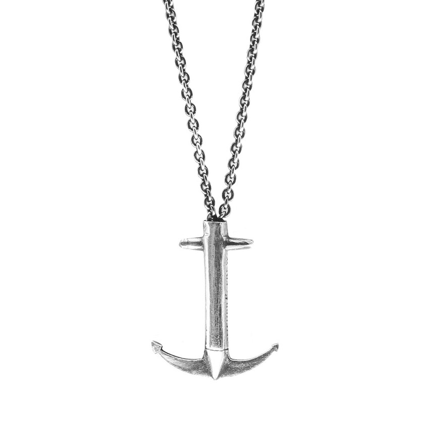 Anchor & Crew Admiral Signature Silver Necklace Pendant