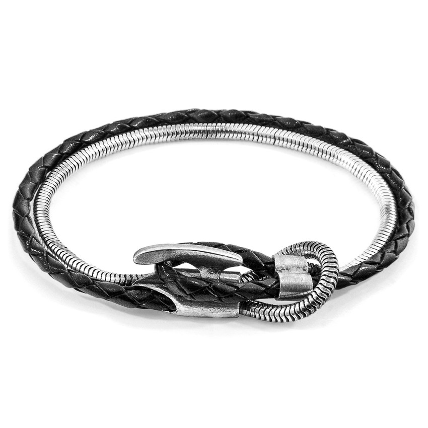 Anchor & Crew Padstow Mooring Silver Chain Bracelet