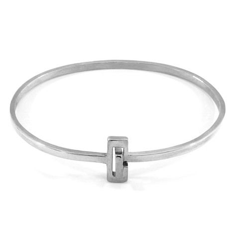 Anchor & Crew Soames Gate Midi Wayfarer Silver Bangle