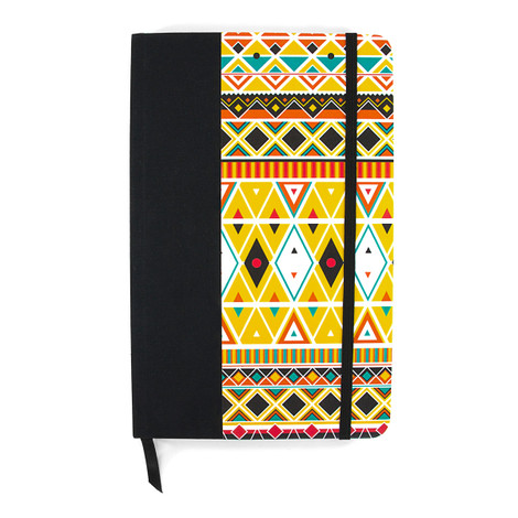 Anchor & Crew Yellow Nairobi Medium Hardcover Notebook