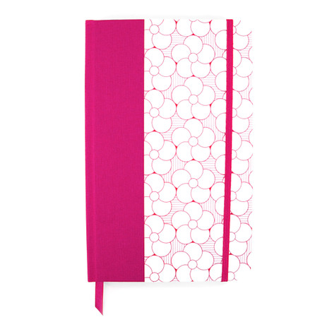 Anchor & Crew Pink Tianjin Medium Hardcover Notebook