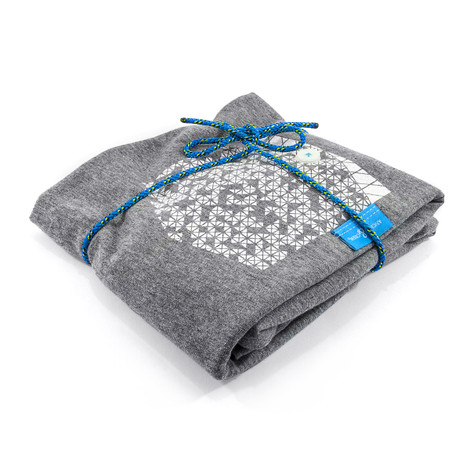 Anchor & Crew Athletic Grey Digit Print Organic Cotton T-Shirt As Wrapped