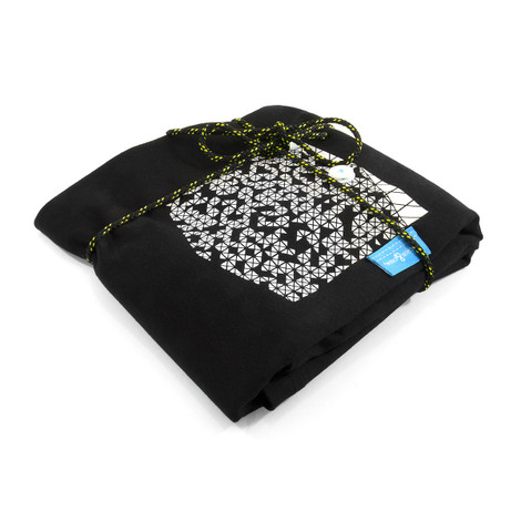 Anchor & Crew Noir Black Digit Print Organic Cotton T-Shirt As Wrapped