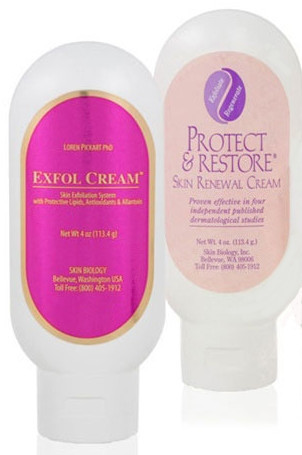 Skin Biology Protect and Restore with Exfol Cream