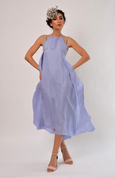 Hippolyta Dress (Lavender Silk Dress)