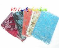 "wholesale 5pcs silk pouch jewelry Zipper Bags 8X4"" j7482"