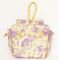 popular oriental style lavender Chinese silk handbag bag purses T795A26