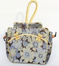 popular oriental style coffee Chinese silk handbag bag purses T754A24