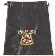 clothing pattern black embroidery silk shoes bag pouch T688A66E3