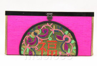 oriental style purple-red handbag bags purses T641A18