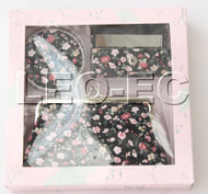 set black colors fleuret Jewelry silk mirror bags pouches Boxes set T362A20